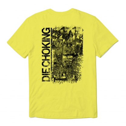 die choking yellow tshirt